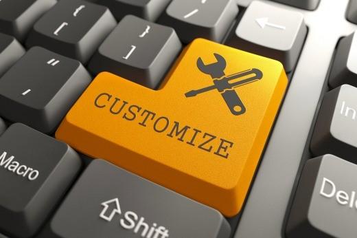 check writing customization